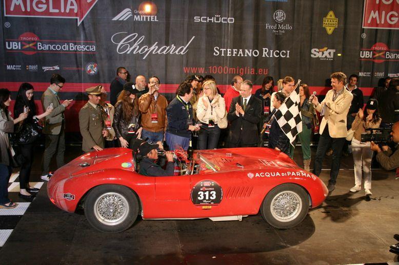 MILLE MIGLIA 2012 | Cristiano Luzzago consulente auto classiche