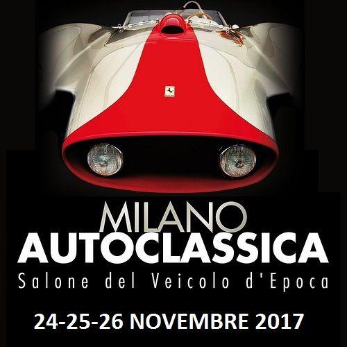 MILANO AUTOCLASSICA 2017 | Cristiano Luzzago consulente auto classiche