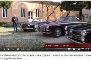 cristiano luzzago copertina documentario carrozzeria touring