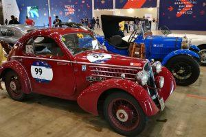1000MIGLIA 2018 - 1935 FIAT 508 CS BERLINETTA AERODINAMICA CRISTIANO LUZZAGO n. 99   Cristiano Luzzago consulente auto classiche image 4
