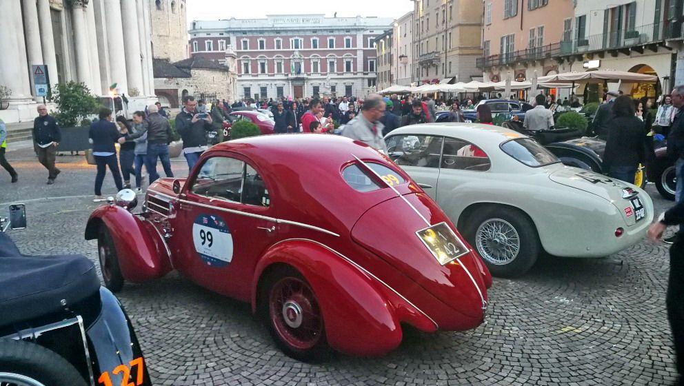 1000MIGLIA 2018 - 1935 FIAT 508 CS BERLINETTA AERODINAMICA CRISTIANO LUZZAGO n. 99 | Cristiano Luzzago consulente auto classiche
