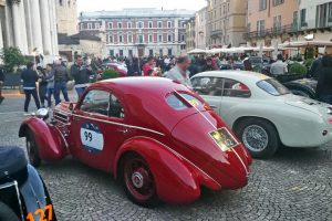 1000MIGLIA 2018 - 1935 FIAT 508 CS BERLINETTA AERODINAMICA CRISTIANO LUZZAGO n. 99   Cristiano Luzzago consulente auto classiche image 13