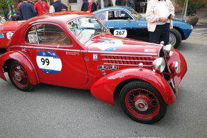 1000MIGLIA 2018 - 1935 FIAT 508 CS BERLINETTA AERODINAMICA CRISTIANO LUZZAGO n. 99   Cristiano Luzzago consulente auto classiche image 14