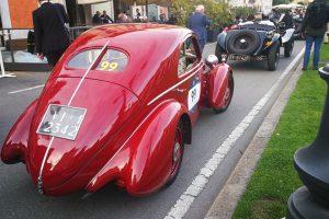 1000MIGLIA 2018 - 1935 FIAT 508 CS BERLINETTA AERODINAMICA CRISTIANO LUZZAGO n. 99   Cristiano Luzzago consulente auto classiche image 15