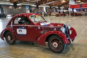 1000MIGLIA 2018 - 1935 FIAT 508 CS BERLINETTA AERODINAMICA CRISTIANO LUZZAGO n. 99   Cristiano Luzzago consulente auto classiche image 5