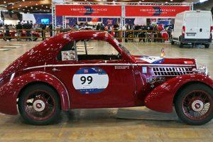1000MIGLIA 2018 - 1935 FIAT 508 CS BERLINETTA AERODINAMICA CRISTIANO LUZZAGO n. 99   Cristiano Luzzago consulente auto classiche image 6