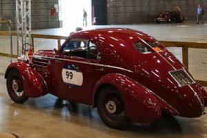 1000MIGLIA 2018 - 1935 FIAT 508 CS BERLINETTA AERODINAMICA CRISTIANO LUZZAGO n. 99   Cristiano Luzzago consulente auto classiche image 7