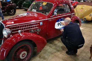 1000MIGLIA 2018 - 1935 FIAT 508 CS BERLINETTA AERODINAMICA CRISTIANO LUZZAGO n. 99   Cristiano Luzzago consulente auto classiche image 9