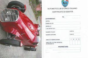 1948 ermini-gilco 1000 miglia www.cristianoluzzago.it brescia italy 81a