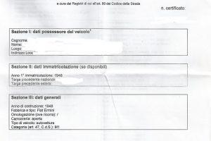 1948 ermini-gilco 1000 miglia www.cristianoluzzago.it brescia italy 81e