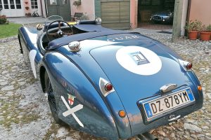 1952 jaguar xk 120 roadster www.cristianoluzzago 8