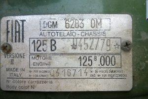 1971 fiat 125 b special www.cristianoluzzago.it 39 328 2454909 35