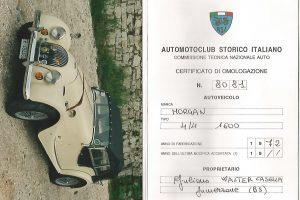 1972 MORGAN 4 -4 4 SEATER 1600- www.cristianoluzzago.it , Brescia, Italy (50