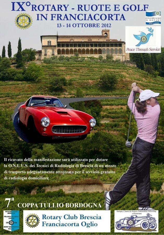 IX ROTARY RUOTE & GOLF 13-14 ottobre 2012 | Cristiano Luzzago consulente auto classiche image 2