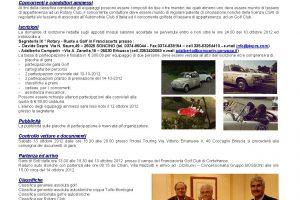 IX ROTARY RUOTE & GOLF 13-14 ottobre 2012   Cristiano Luzzago consulente auto classiche image 4