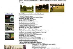 IX ROTARY RUOTE & GOLF 13-14 ottobre 2012   Cristiano Luzzago consulente auto classiche image 5