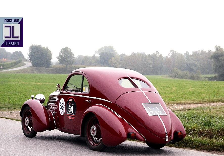 1935 フィアット 508S ベルリネッタ エア ロ ダイナミクス