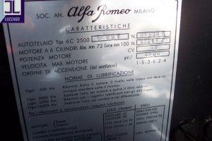 alfa romeo 2500 6c stabilimenti farina www.cristianoluzzago.it brescia italy 43