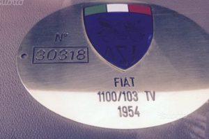 fiat 1100 tv 1954 www.cristianoluzzago.it brescia italy 12