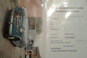 fiat 1100 tv 1954 www.cristianoluzzago.it brescia italy 13