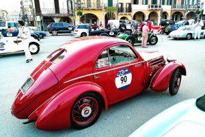 fiat 508 berlinetta 1000 miglia aerodinamica www.cristianoluzzago.it brescia italy 44prato della valle