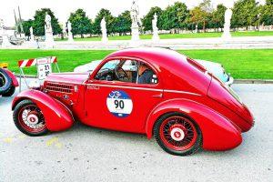 fiat 508 berlinetta 1000 miglia aerodinamica www.cristianoluzzago.it brescia italy 45prato della valle