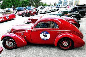 fiat 508 berlinetta 1000 miglia aerodinamica www.cristianoluzzago.it brescia italy 46san marino