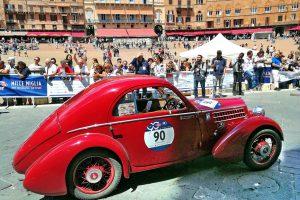 fiat 508 berlinetta 1000 miglia aerodinamica www.cristianoluzzago.it brescia italy 55 piazza del campo siena