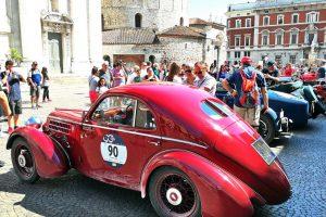 fiat 508 berlinetta 1000 miglia aerodinamica www.cristianoluzzago.it brescia italy 71arrivo