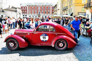 fiat 508 berlinetta 1000 miglia aerodinamica www.cristianoluzzago.it brescia italy 72arrivo