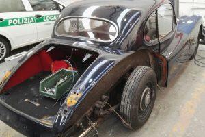 jaguar xk 120 restauro 1
