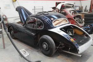 jaguar xk 120 restauro 12
