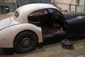 jaguar xk 120 restauro 16