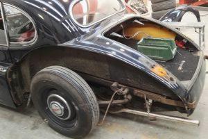 jaguar xk 120 restauro 2