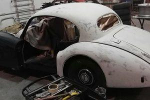 jaguar xk 120 restauro 21