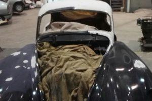 jaguar xk 120 restauro 22