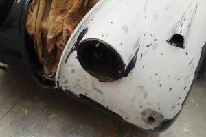 jaguar xk 120 restauro 24