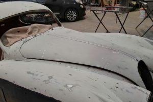 jaguar xk 120 restauro 27