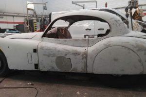 jaguar xk 120 restauro 33