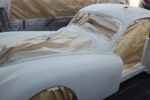 jaguar xk 120 restauro 45