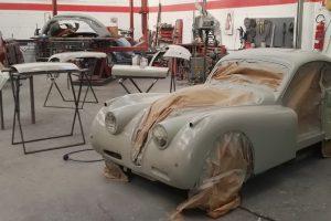 jaguar xk 120 restauro 46