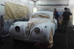jaguar xk 120 restauro 49