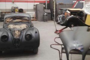 jaguar xk 120 restauro 50