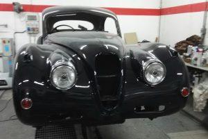 jaguar xk 120 restauro 60