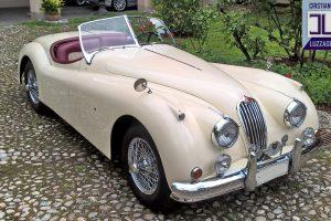 jaguar xk 140 roadster www.cristianoluzzago.it italy 10