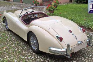 jaguar xk 140 roadster www.cristianoluzzago.it italy 5