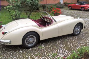 jaguar xk 140 roadster www.cristianoluzzago.it italy 7