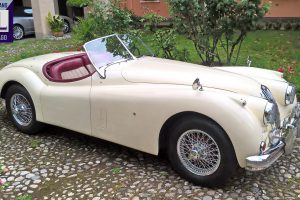 jaguar xk 140 roadster www.cristianoluzzago.it italy 9