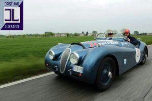 jaguar xk120 roadster www.cristianoluzzago.it 39 328 2454909 2