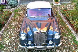 mercedes 220 s ponton coupe 1957 www.cristianoluzzago.it brescia italy 1